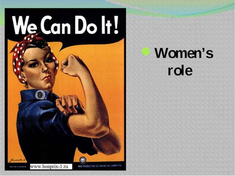 Women's role