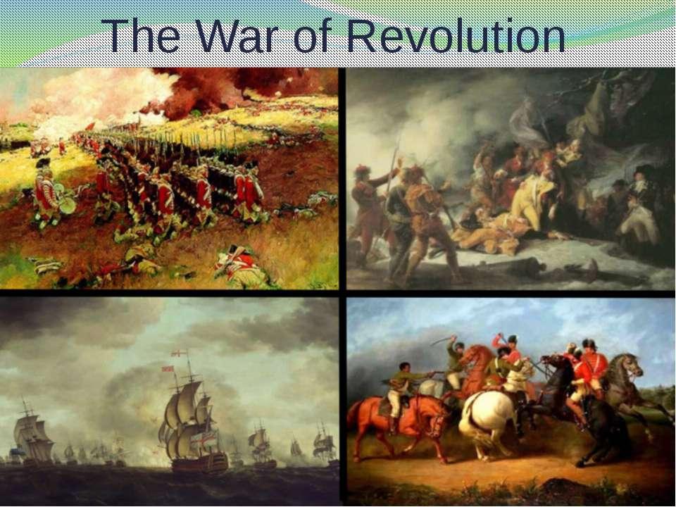 The War of Revolution