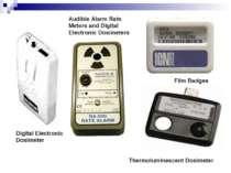 Digital Electronic Dosimeter Audible Alarm Rate Meters and Digital Electronic...