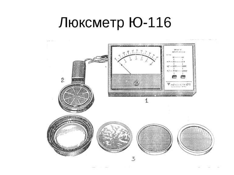 Люксметр Ю-116