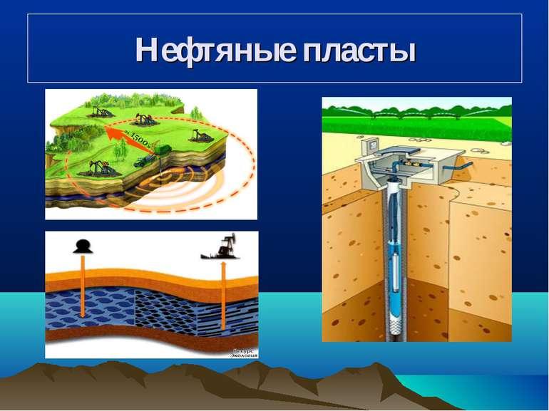Нефтяные пласты