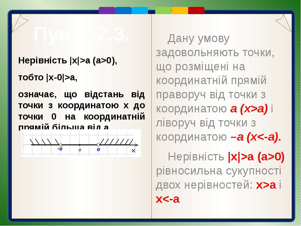 Пункт 2.3. Розв'язання  2x-3 