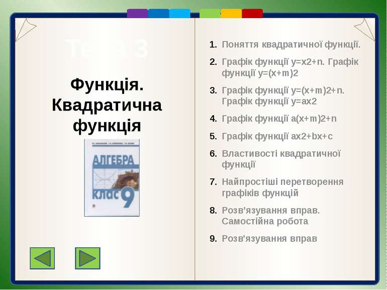 Пункт 3.1. Функціональною називають таку залежність між двома змінними (напри...