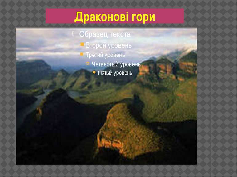 Драконові гори