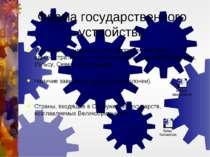 Форма государственного устройства Унитарное государство с предоставлением пра...