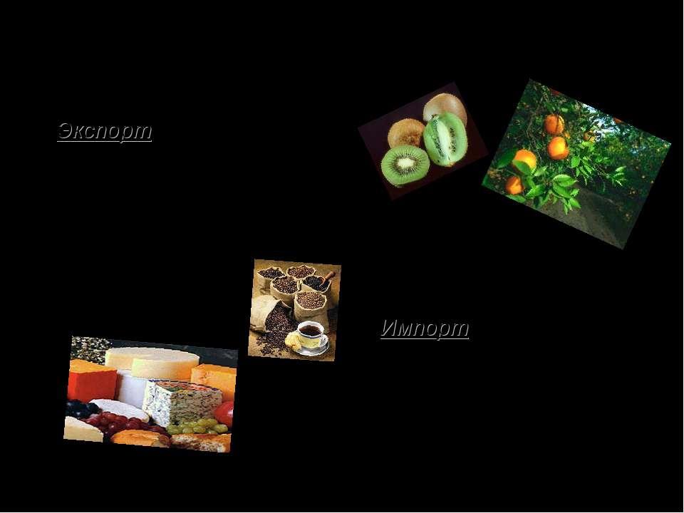 """Внешнеэкономические связи Экспорт: автомобили (""""Пежо"""", """"Рено"""", """"Ситроен""""), ат..."""