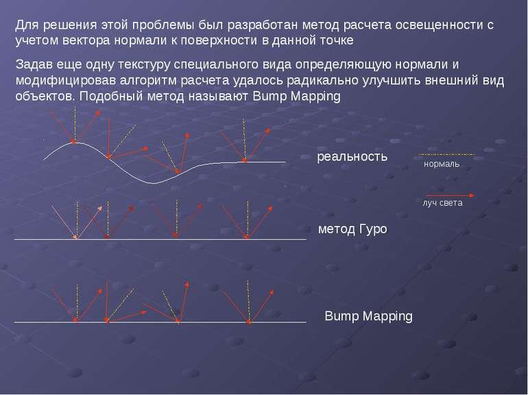 Для решения этой проблемы был разработан метод расчета освещенности с учетом ...