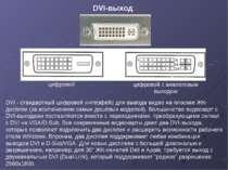 DVI - стандартный цифровой интерфейс для вывода видео на плоские ЖК-дисплеи (...