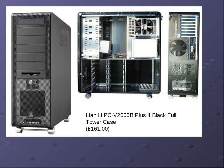 Lian Li PC-V2000B Plus II Black Full Tower Case (£161.00)