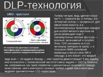 DMD - кристалл От количества цветовых секторов-светофильтров на вращающемся д...