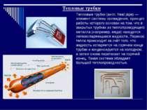 Тепловые трубки Тепловые трубки (англ. heat pipe) — элемент системы охлаждени...