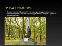 ПРИРОДНІ ЗАПОВІТНИКИ В області налічується 85 територій та об'єктів природно-...
