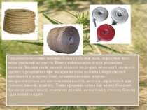 Прядивне(конопляне) волокно більш грубе ніж льон, за рахунок чого менш схильн...