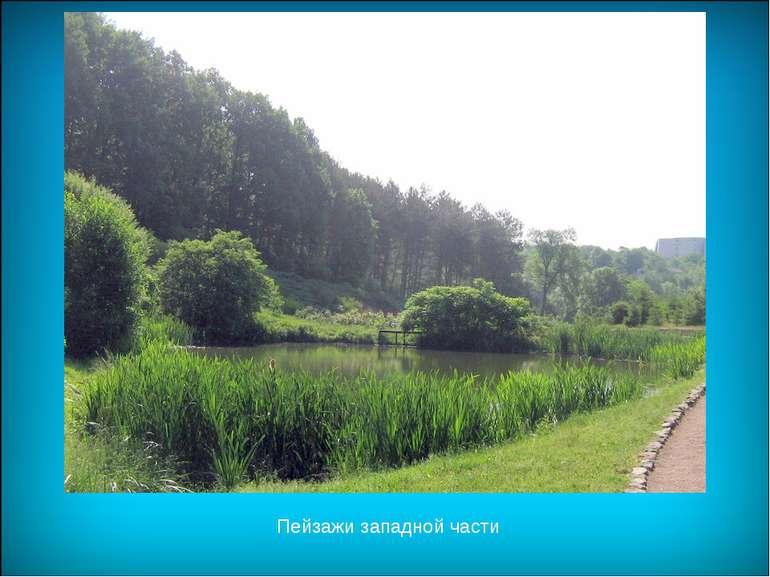 Пейзажи западной части