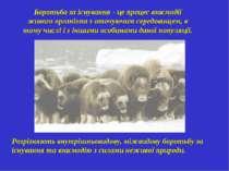 Боротьба за існування - це процес взаємодії живого організма з оточуючим сере...