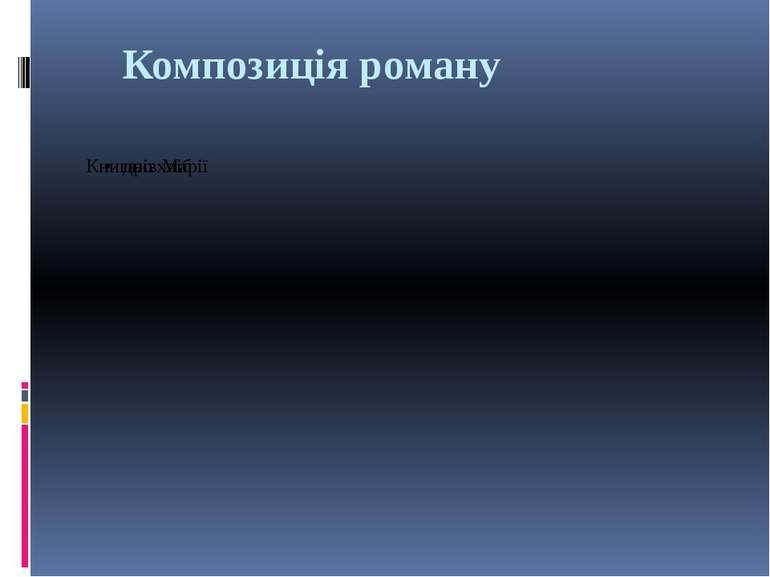Композиція роману