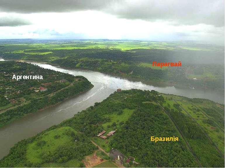 Аргентина Бразилія Парагвай
