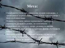 Мета: Ознайомити учнів з гітлерівським «новим порядком», з організацією та ре...