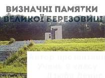 Автор презентації Учень 9 класу Дзюба Денис '