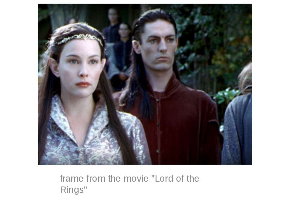 "frame from the movie ""Lord of the Rings"""