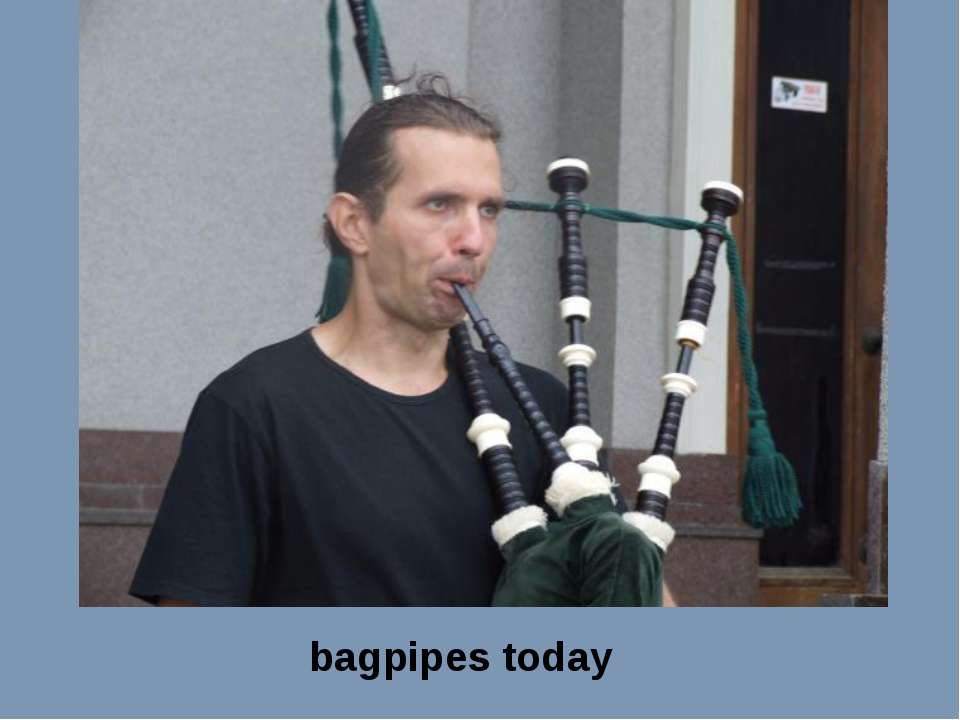 bagpipes today