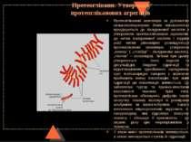 Протеоглікани. Утворення протеогліканових агрегатів Протеогліканові мономери ...
