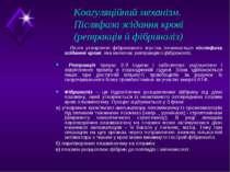 Коагуляційний механізм. Післяфаза зсідання крові (ретракція й фібриноліз) Піс...