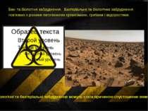 Бак- та біологічні забруднення. Бактеріальне та біологічне забруднення пов'яз...