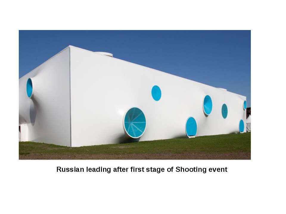 Russian leading after first stage of Shooting event
