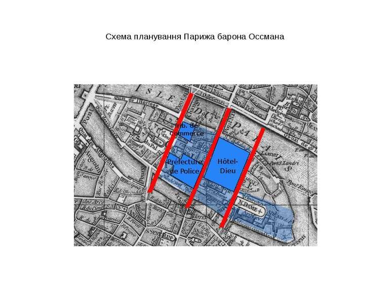 Схема планування Парижа барона Оссмана