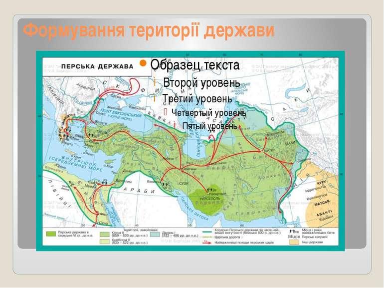 Формування території держави