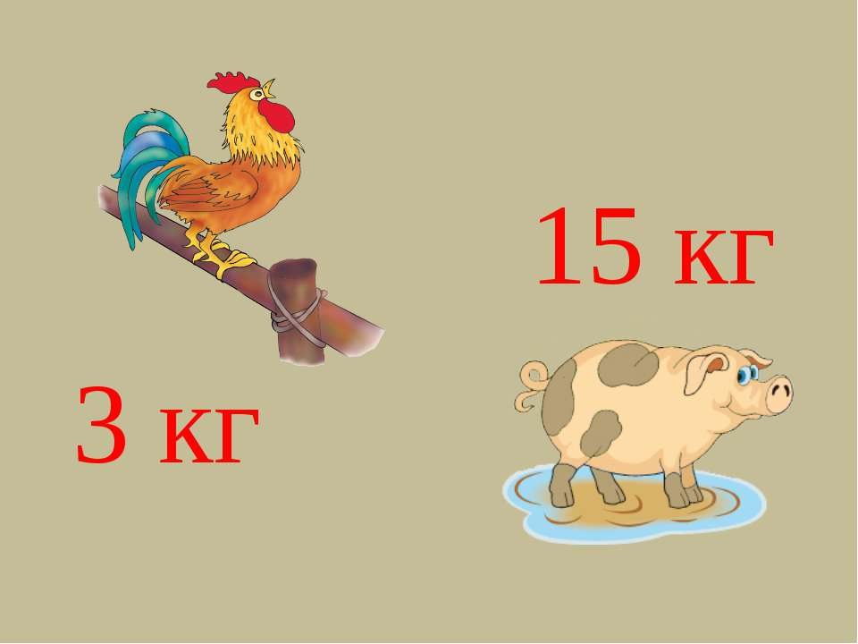 3 кг 15 кг