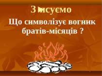 З'ясуємо Що символізує вогник братів-місяців ?