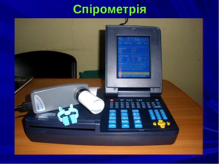 Спірометрія