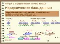 Иерархическая база данных Иерархическая база данных - это множество иерархиче...