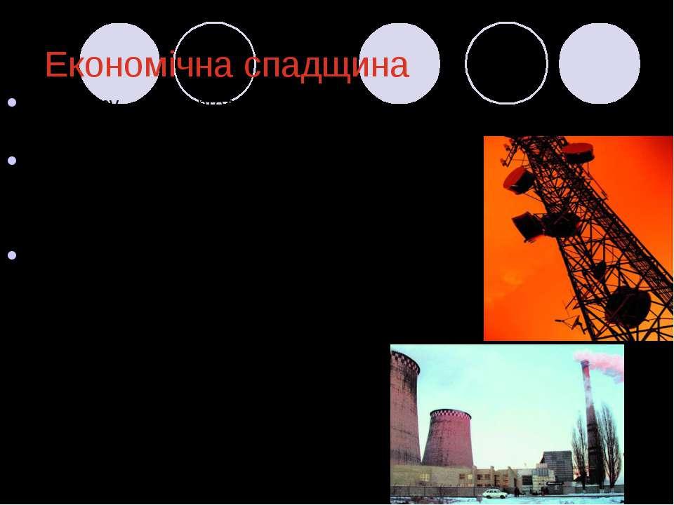 Економічна спадщина Структуру енергетики України по встановленим потужностям ...