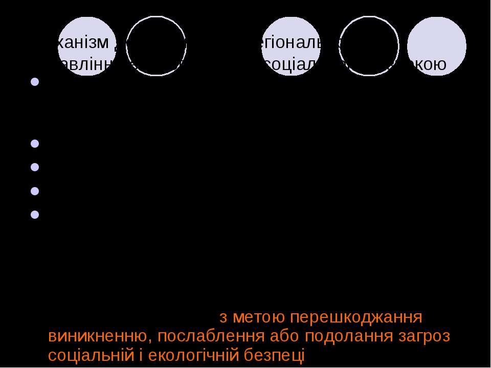 Механізм державного та регіонального управління екологічною та соціальною без...