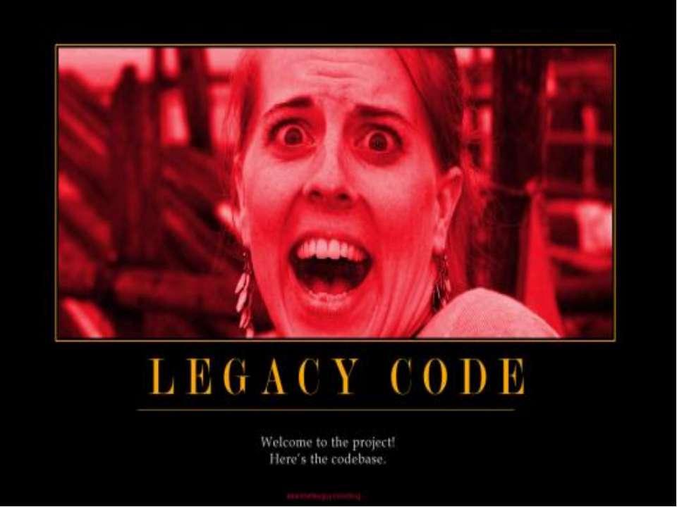 Код, написаний у 70-х роках, - найгірше, що є в сучасному програмуванні. Для ...