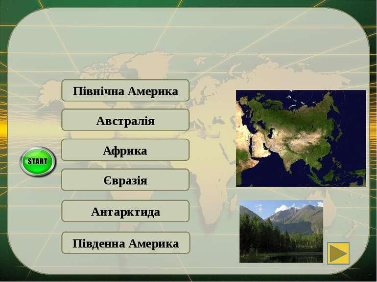 Південна Америка Євразія Материк … майже повністю знаходиться у північній пів...