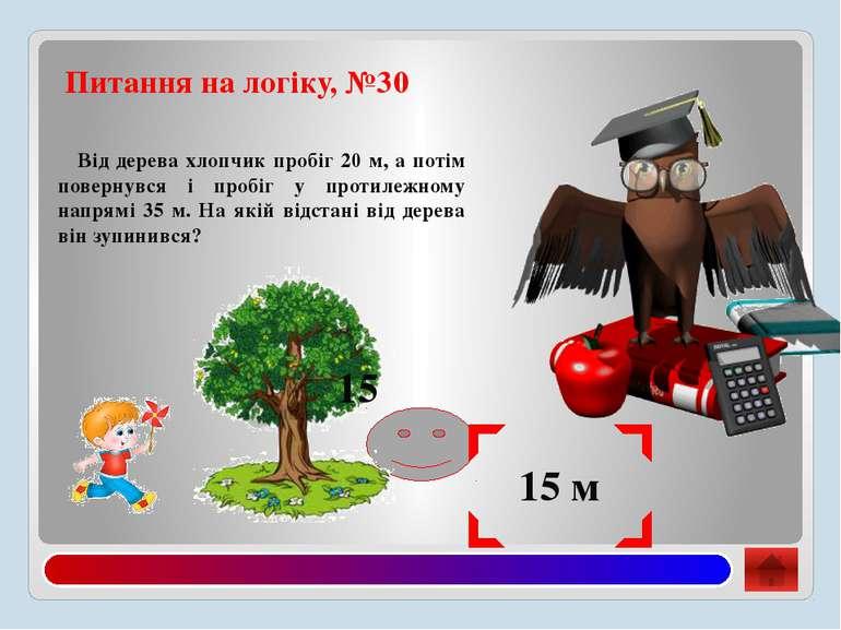 №31. Питання з математики 12 Відповідь: