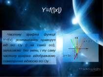 Y=f(|x|) Частину графіка функції Y=f(x), розташовану праворуч від осі Оу (і н...