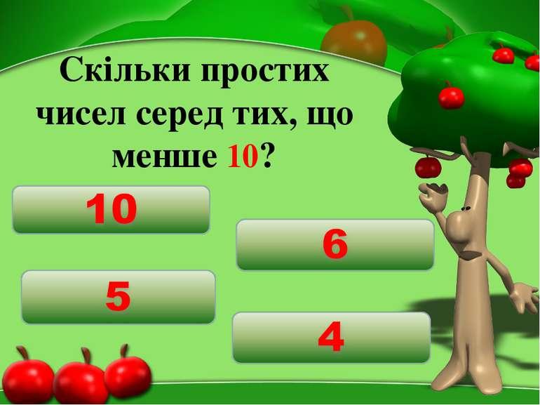 Скільки простих чисел серед тих, що менше 10?