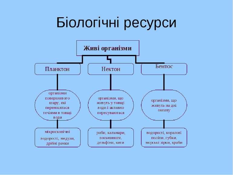 Біологічні ресурси