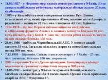 11.09.1927 – у Чорному морі стався землетрус силою у 9 балів. Ялта зазнала на...