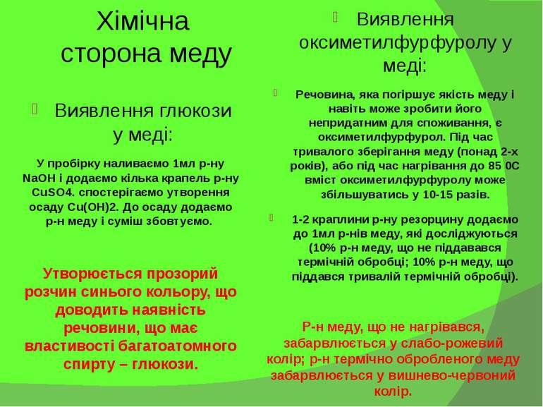 Виявлення оксиметилфурфуролу у меді: Речовина, яка погіршує якість меду і нав...
