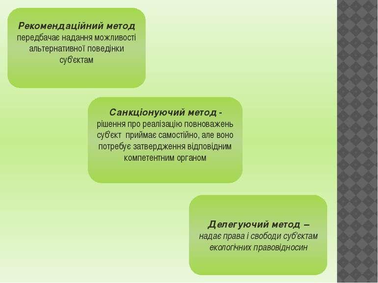 Рекомендаційний метод передбачає надання можливості альтернативної поведінки ...