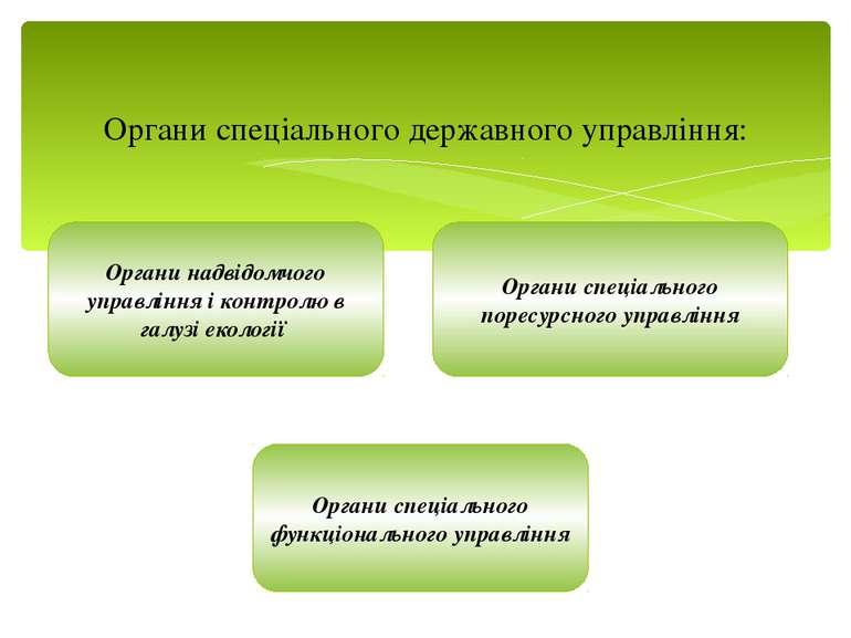 Органи спеціального державного управління: Органи надвідомчого управління і к...