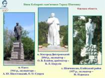 Одеська область Вінок Кобзареві: пам'ятники Тарасу Шевченку м. Одеса 1966 р.,...