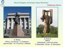 Волинська область м. Луцьк 1995 р., скульптор – Е. Кунцевич, архітектори – О....