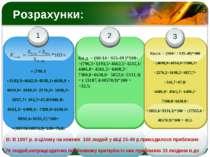 Розрахунки: = (796,3 +3193,5+4662,5+4535,1+4698,9 + 4034,9+ 3380,2+ 2276,2+ 1...
